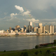 Storm Clearing Rainbow Formed Refracted Light Over New Orleans Louisiana - PhotoDune Item for Sale
