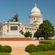 Manicured Grounds Landscape Front Lawn Arkansas State Capital  - PhotoDune Item for Sale