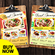 Restaurant Menu - Food Menu Flyer - GraphicRiver Item for Sale