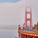 Golden Gate Bridge view at foggy morning - PhotoDune Item for Sale
