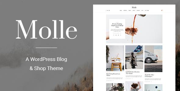 Molle - A WordPress Blog & Shop Theme - Blog / Magazine WordPress