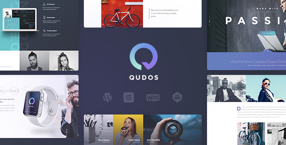Qudos - Multi-Purpose Elementor WordPress Theme - Portfolio Creative