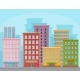 Cityscape with Modern Buildings, Urban Panorama - GraphicRiver Item for Sale
