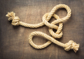 ship rope at wooden background surface - PhotoDune Item for Sale
