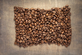 coffee beans on wooden background - PhotoDune Item for Sale