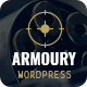 Free Download Armoury - Weapon Store WordPress Theme Nulled