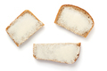 sliced bread isolated on white - PhotoDune Item for Sale