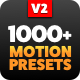 The Most Handy Motion Presets for Animation Composer - VideoHive Item for Sale