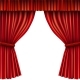 Red Stage Curtain - GraphicRiver Item for Sale