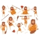 Funny Stone Age Prehistoric Man - GraphicRiver Item for Sale