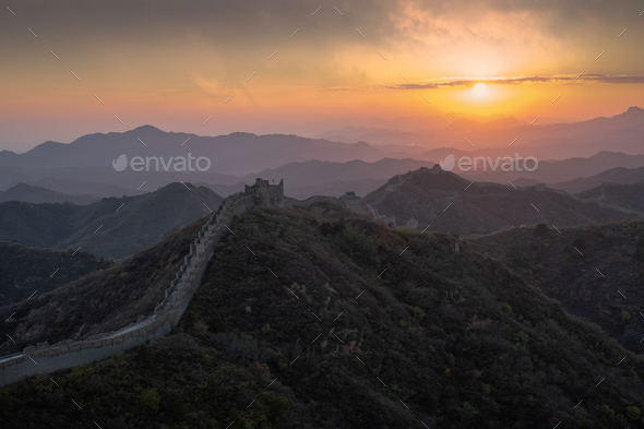great Wall - Stock Photo - Images