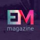 EM - Blog & Magazine Drupal Theme - ThemeForest Item for Sale