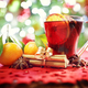 Christmas background with hot mulled wine - PhotoDune Item for Sale