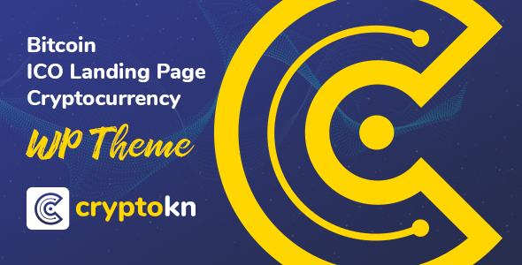 Cryptokn - ICO Landing Page & Cryptocurrency WordPress Theme Free Download | Nulled