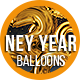 New Year Balloons 1