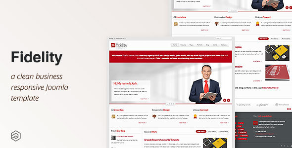 Fidelity Responsive Business Joomla Template By Arrowthemes