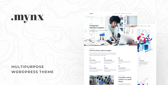 Mynx - MultiPurpose WordPress Theme - Business Corporate