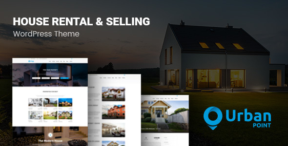 UrbanPoint - House Selling & Rental WordPress Theme - Real Estate WordPress