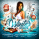 Winter Sounds Party Flyer - GraphicRiver Item for Sale