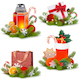 Vector Christmas Concept Icons - GraphicRiver Item for Sale