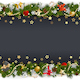 Vector Christmas Background with Stars and Gifts - GraphicRiver Item for Sale
