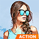 GrandTheft Game Theme Effect - Photoshop Action - GraphicRiver Item for Sale
