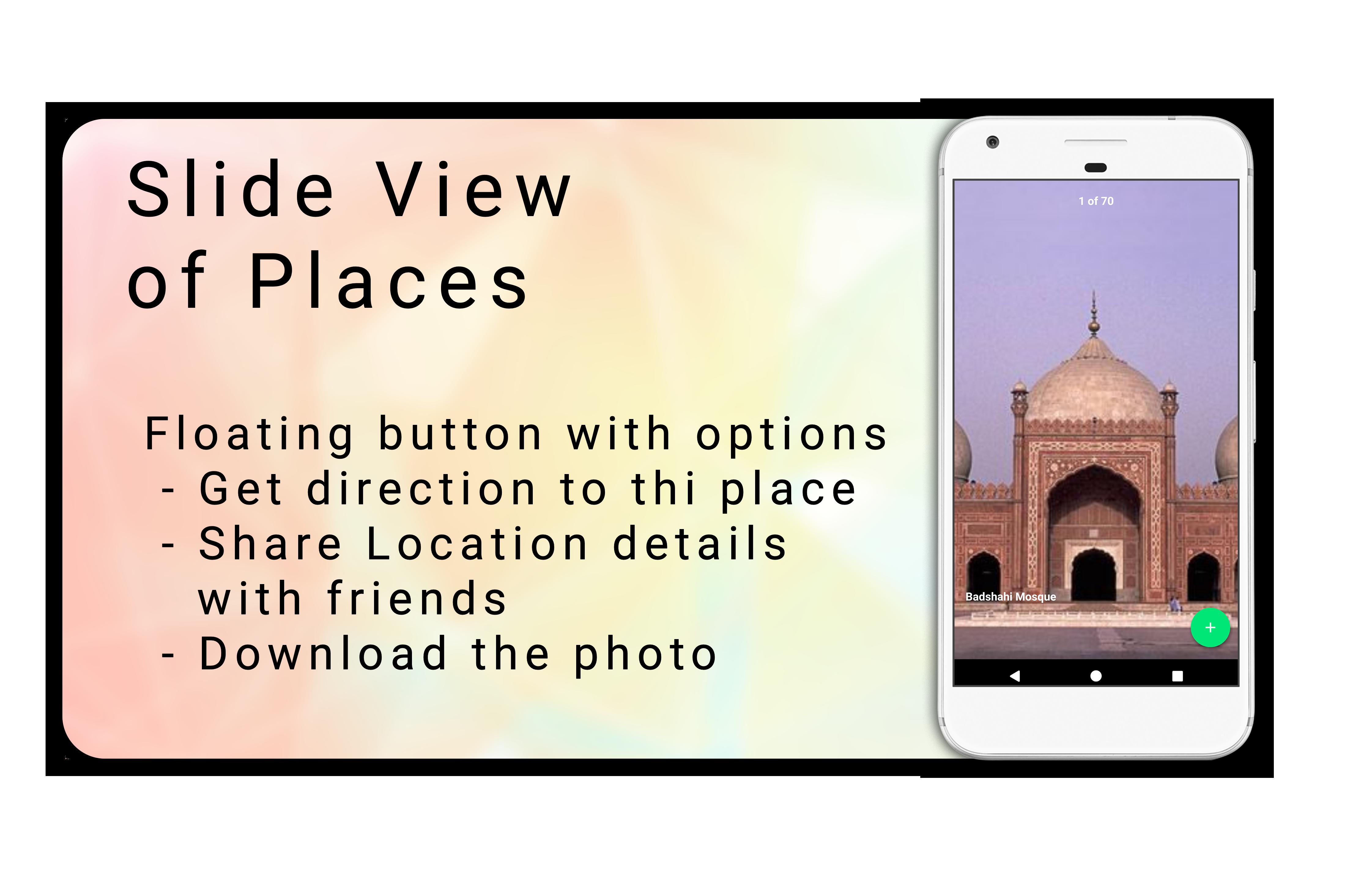 Tour Guider App with Material Design v1 0