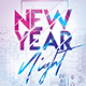 New Year Night Party Flyer - GraphicRiver Item for Sale