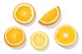 Citrus wheels, top view, paths - PhotoDune Item for Sale