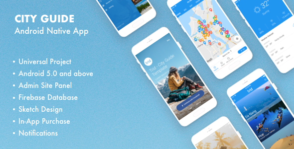Trid - City Guide Android Native with Admin Panel, Firebase - CodeCanyon Item for Sale