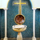 Religious baptismal font in a church - PhotoDune Item for Sale