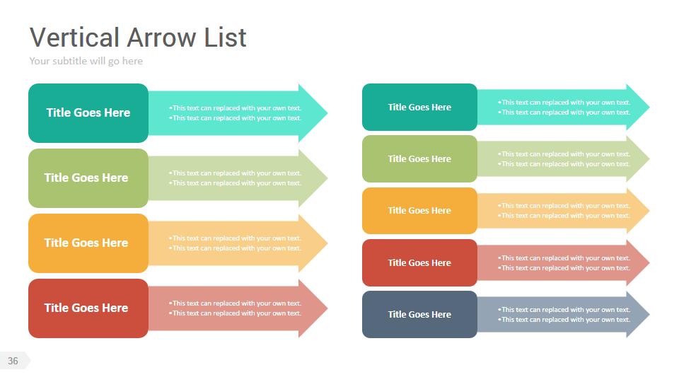 smartart library powerpoint presentation template by rojdark