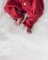 Newborn Baby in a Red Outfit - PhotoDune Item for Sale