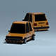 Stylized Car Golf mk2 - 3DOcean Item for Sale