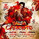 Latin Night Salsa Caliente Party Flyer - GraphicRiver Item for Sale