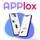 Free Download Applox | App Landing Page PSD Template Nulled
