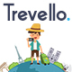 Free Download Trevello | Tours and Travel PSD Template Nulled