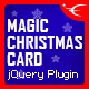 Free Download Magic Christmas Card With Animation Nulled