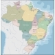 Map of Brazil - GraphicRiver Item for Sale