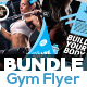 Free Download Fitness Flyer Bundle Nulled