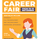 Free Download Career Fair Flyer Nulled