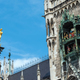 The Marian Column and the Clock chimes at the Marienplatz  - PhotoDune Item for Sale