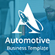 Automotive Business Google Slide Template - GraphicRiver Item for Sale