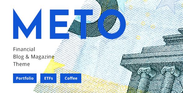 Meto - Financial Blog - Designed for Investors, Traders and Economists - Blog / Magazine WordPress
