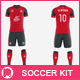 Free Download Men's Full Soccer Team Kit mockup V3 Nulled
