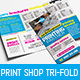 Print Shop Tri-Fold Brochure - GraphicRiver Item for Sale