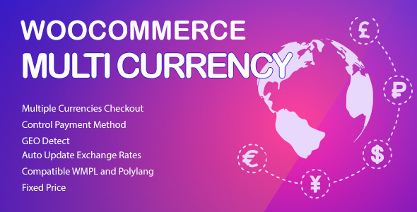 WooCommerce Multi Currency - Currency Switcher - CodeCanyon Item for Sale