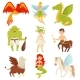Mythical Fairy Tale Creatures Set, Centaur - GraphicRiver Item for Sale