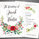 Free Download Floral Wedding Invite Nulled