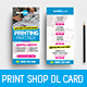 Print Shop DL Rack Card - GraphicRiver Item for Sale